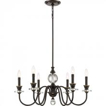 Quoizel CRY5006PN - Ceremony Chandelier