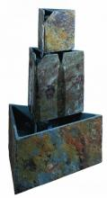 Kenroy Home 50287SL - Stacked Triangles Fountain