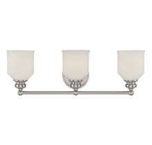 Savoy House 8-6836-3-SN - Melrose 3 Light Bath Bar