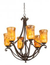 Kalco 4976TO/PS5201 - Somerset 6 Light Chandelier