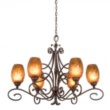 Kalco 5534AC/1209 - Amelie 6 Light Chandelier