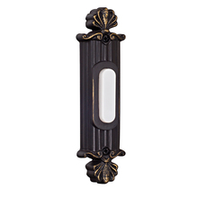 Teiber Lighting Products BSSO-AZ - Surface Mount Straight Ornate LED Illuminated Push Button