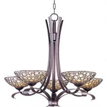 Maxim 21345DWUB - Meridian-Single-Tier Chandelier