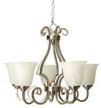 Craftmade 7124BN5 - Cecilia 5 Light Chandelier in Brushed Satin Nickel