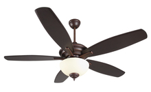 "Craftmade CN52OBG5 - Copeland 52"" Ceiling Fan with Blades and Light in Oiled Bronze Gilded"
