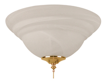 Craftmade ELK126-11 - 2 Light Bowl Fan Light Kit with Alabaster Glass