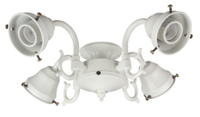 Craftmade F440CFL-AW - 4 Light Universal Fitter in Antique White