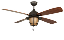 "Craftmade MR56ESP4C1 - Morrow Bay 56"" Ceiling Fan with Blades and Light in Espresso"