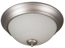 "Craftmade XP15BN-3W - Pro Builder 3 Light 15"" Flushmount in Brushed Satin Nickel"
