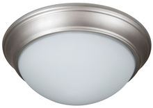 "Craftmade XPP11BN-2W - Pro Builder Premium 2 Light 11"" Flushmount in Brushed Satin Nickel"