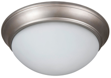 "Craftmade XPP13BN-2W - Pro Builder Premium 2 Light 13"" Flushmount in Brushed Satin Nickel"