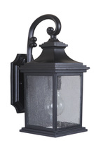 Craftmade Z3204-11 - 1 Light Midnight Outdoor Small Wall Mount