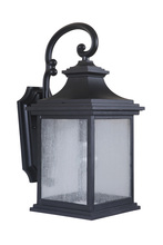 Craftmade Z3214-11 - 1 Light Midnight Outdoor Medium Wall Mount