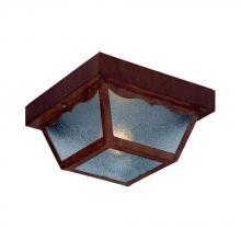 Acclaim Lighting 4901BW - Builder's Choice Collection Ceiling-Mount 1-Light Outdoor Burled Walnut Light Fixture