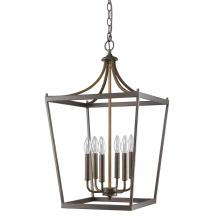 Acclaim Lighting IN11134ORB - Kennedy Indoor 6-Light Pendant In Oil Rubbed Bronze
