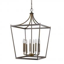 Acclaim Lighting IN11135ORB - Kennedy Indoor 8-Light Pendant Oil Rubbed Bronze