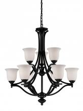Z-Lite 702-9-BRZ - 9 Light Chandelier
