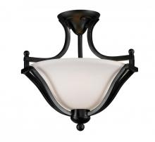 Z-Lite 702SF-BRZ - 2 Light Semi-Flush Mount