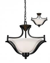 Z-Lite 702SFC-BRZ - 3 Light Pendant