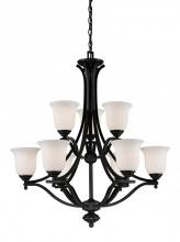 Z-Lite 703-9-MB - 9 Light Chandelier