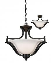 Z-Lite 703SFC-MB - 3 Light Pendant
