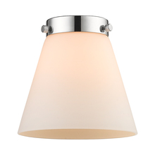 Innovations Lighting G61 - Matte White Cased Small Cone Glass