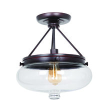 Jeremiah 35051-OBG - 1 Light Semi Flush