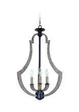 Jeremiah 35133-WP - 3 Light Foyer