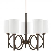 Capital 4675BB-590 - 5 Light Chandelier