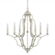 Capital 4946AS-000 - 6 Light Chandelier