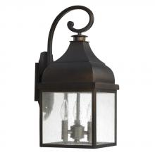Capital 9642OB - 3 Light Outdoor Wall Lantern