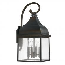 Capital 9643OB - 4 Light Outdoor Wall Lantern