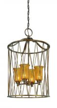 Troy F3044MB - Four Light Molten Bronze Foyer Hall Pendant