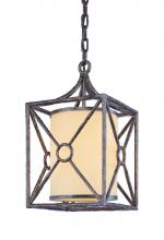Troy F5025BLF - One Light Bronze Leaf Outdoor Pendant