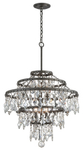 Troy F4317 - MERITAGE 6LT CHANDELIER LARGE