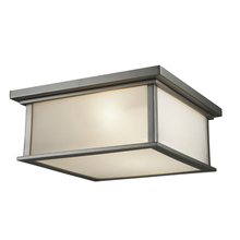 Steven & Chris SC13004SN - Gatsby 4 Light  Brushed Stainless Steel Flush Mount
