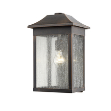 Steven & Chris SC13102RU - Morgan 1 Light  Brown  & Rust Outdoor Light
