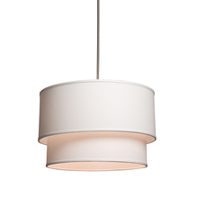 Steven & Chris SC522WH - Mercer Street 3 Light  White Chandelier