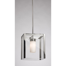 Steven & Chris SC650BK - One Light Matte Black Clear Outer And Clear Candle Glass Down Pendant