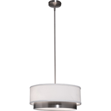 Steven & Chris SC781 - Scandia 2 Light  Brushed Nickel Chandelier