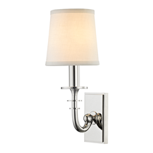 Hudson Valley 8400-PN - 1 Light Wall Sconce