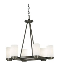 Kenroy Home 91766SBZ - Toronto 6 Light Chandelier