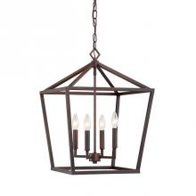 Millennium 3244-RBZ - Pendants serve as both an excellent source of illumination and an eye-catching decorative fixture.