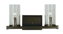 Framburg 1112 MBLACK - 2-Light Matte Black Compass Sconce