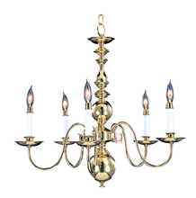 Framburg 9126 SP - 5-Light Satin Pewter Jamestown Dining Chandelier