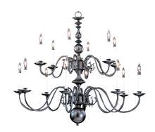 Framburg 9135 PB - 14-Light Polished Brass Jamestown Foyer Chandelier