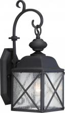 "Nuvo 60/5621 - Wingate 1 Light 6"" Outdoor Wall Fixture with Clear Seed Glass"