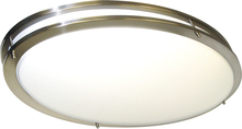 "Nuvo 62-1041 - LED Glamour BN 32"" Oval"