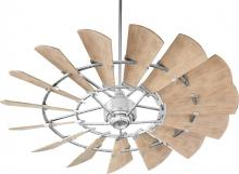 "Quorum 196015-9 - WINDMILL 60"" DAMP FAN -GV"